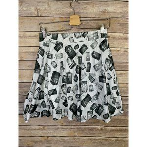 Dr Who Womens Large Her Universe Tardis Skirt